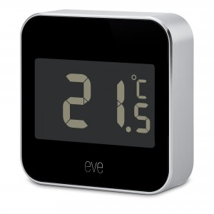 Elgato Eve Degree Temperature & Humidity Monitor with Apple HomeKit Technology Bluetooth Low Energy