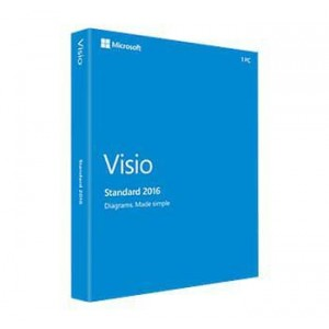 Microsoft Visio 2016 Standard Medialess