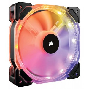 Corsair HD120 RGB 120mm Fan, With Controller
