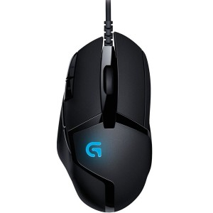 Logitech G402 Hyperion Fury Blue LED Tunable Ergonomic USB Wired Gaming Mouse 910-004070