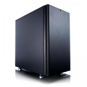 Fractal Design Define Mini C Black ATX Case, No PSU