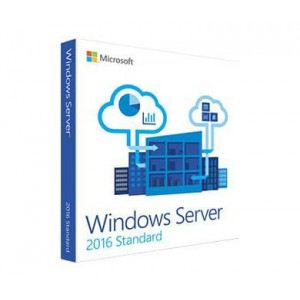 Microsoft Windows Server 2016 Standard, For up to 16 Cores, OEM