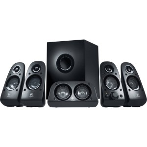 Logitech Z506 5.1 Surround Sound Speaker System for Laptop Desktop Computer PC 980-000433
