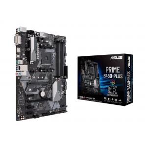 ASUS PRIME B450-PLUS ATX Motherboard AMD Ryzen RGB DDR4 M.2 HDMI