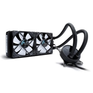 Fractal Design Celsius S24 Liquid CPU Cooler Radiator with 2x 120mm PWM Fan FD-WCU-CELSIUS-S24-BK