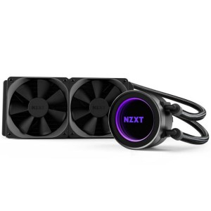 NZXT Kraken Series X52 RGB 240MM Quiet Liquid CPU Cooler Heatsink Fan Intel AMD RL-KRX52-02