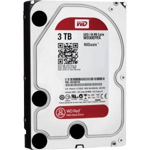 "Western Digital WD Red 3TB 3.5"" SATA Internal NAS Hard Drive HDD 5400RPM 64MB WD30EFRX"