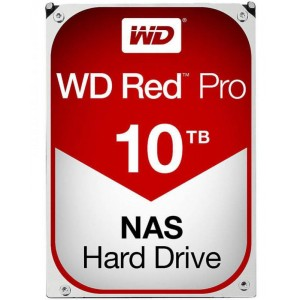 "Western Digital WD Red Pro 10TB 3.5"" SATA Internal NAS Hard Drive HDD 7200RPM WD101KFBX"