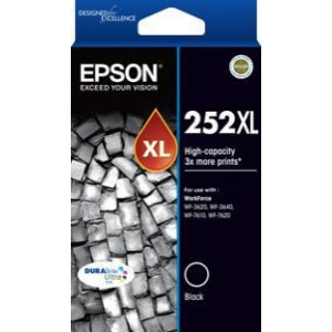 Epson 252XL Ink Cartridge, Black