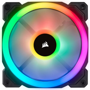 Corsair LL120 120MM RGB LED Silent Computer PC Case Cooling Cooler Fans 1 Pack CO-9050071-WW