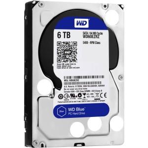 """Western Digital WD Blue 6TB 3.5"""" SATA Internal Desktop Hard Drive HDD 5400RPM WD60EZRZ"""
