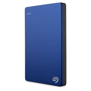 "Seagate Backup Plus Slim 2TB 2.5"" USB 3.0 Portable External Hard Drive HDD Blue STDR2000302"