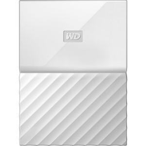 "Western Digital WD My Passport 1TB 2.5"" Portable External Hard Drive HDD White WDBYNN0010BWT"