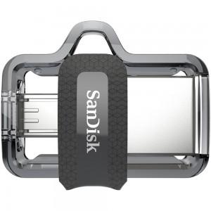 SanDisk 16GB Ultra Dual OTG Micro USB 3.0 Flash Drive Memory Stick Thumb Key SDDD3-016G
