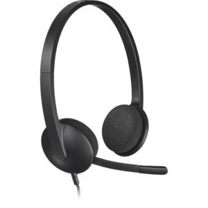 Logitech H340 Computer USB Headset Black 981-000477
