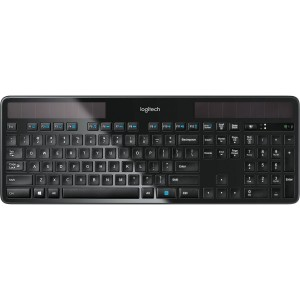 Logitech K750R USB Wireless Solar Light Powered Keyboard for Desktop PC Mac 920-004631