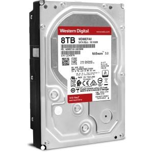 """Western Digital WD Red 8TB 3.5"""" SATA Internal NAS Hard Drive HDD 5400RPM 256MB WD80EFAX"""