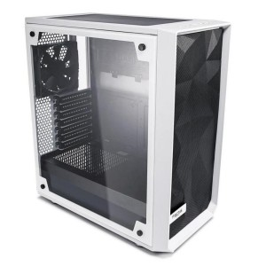 Fractal Design Meshify C WHITE Mid-Tower ATX Case Tempered Glass Side Window FD-CA-MESH-C-WT-TGC