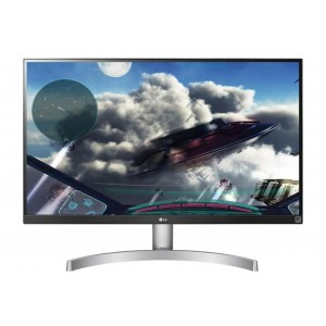 "LG 27UK600-W 27"" IPS Computer Monitor UHD LED LCD 4K Monitor with HDR10 FreeSync"