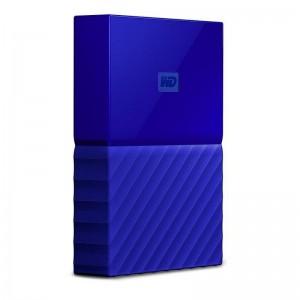 WD My Passport 2TB USB3.0 Portable Hard Drive- Blue WDBS4B0020BBL-WESN