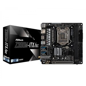 ASRock Z390M-ITX/ac USB 3.1 HDMI LGA1151 x4 DDR4 DIMM Mini-ITX Motherboard