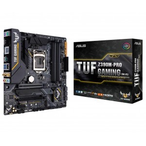 ASUS TUF Z390M-Pro Gaming (Wi-Fi) USB 3.1 LGA1151 x4 DDR4 m-ATX Motherboard