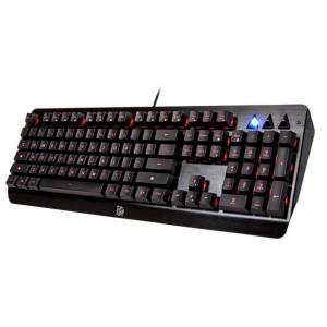 Thermaltake Tt eSPORTS Challenger Edge RGB LED Backlit Gaming Membrane Keyboard KB-CHE-MBBLUS-E1