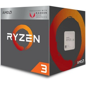 AMD Ryzen 3 2200G Processor 4MB 3.5 GHz AM4 4 Core 4 Thread CPU Vega 8 Graphics YD2200C5FBBOX
