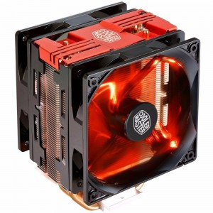 Cooler Master Hyper 212 LED Turbo 120MM CPU Cooler Heatsink Fan 1151 1155 Red RR-212TR-16PR-R1