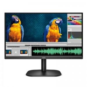 "AOC 24B2XHM 23.8"" 75Hz FHD Adaptive Sync VA HDMI VGA Monitor"