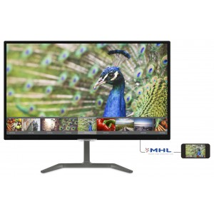 "Philips E Line 27"" Full HD IPS W-LED LCD Monitor 1920x1080 5ms VGA DVI HDMI Built-in Speaker 276E7QDAB"
