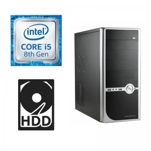 INTEL Core i5 8400 Max 4.0GHz DESKTOP COMPUTER 1TB 8GB DDR4 HDMI Quad Gaming PC