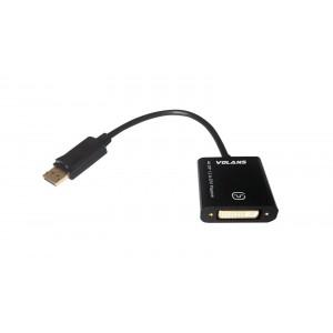 Volans PASSIVE DisplayPort 1.2 to DVI Converter (4K) VL-PDPDV