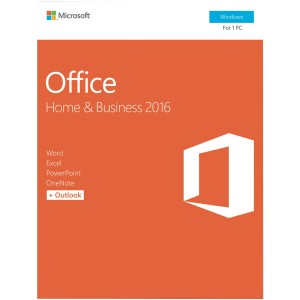 Microsoft Office Home and Business 2016 - 1 PC - Retail