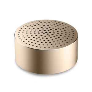 XiaoMi Mi Bluetooth Speaker Mini Wireless Portable Pocket with Microphone Gold FXR4039CN