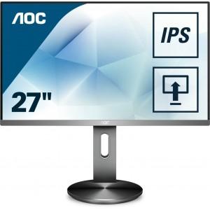 "AOC I2790PQU 27"" LED LCD Gaming Computer Monitor FHD 1080P HDMI DP Speaker IPS"