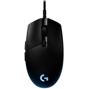 Logitech G Pro No Hero 16K Sensor RGB LED Light USB Optical Wired Gaming Mouse 910-005127