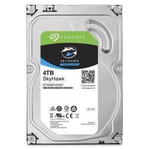 """Seagate SkyHawk 4TB 3.5"""" SATA Internal Surveillance Hard Drive HDD 5900RPM 64MB ST4000VX007"""