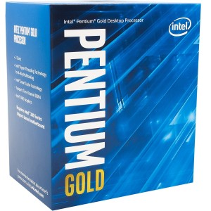 Intel Pentium G5400 Processor 4MB 3.7 GHz LGA 1151 2 Core 4 Thread Desktop CPU BX80684G5400