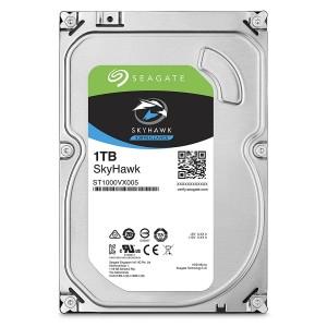 """Seagate SkyHawk 1TB 3.5"""" SATA Internal Surveillance Hard Drive HDD 5900RPM 64MB ST1000VX005"""