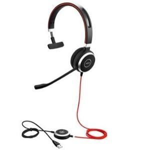 Jabra (6393-823-109) Evolve 40 MS Mono Headset