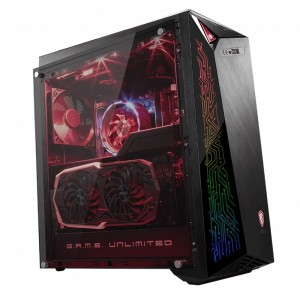 MSI Infinite A Mid Tower Gaming PC i7-9700F 16GB 2TB+512GB RTX2070 Win10H
