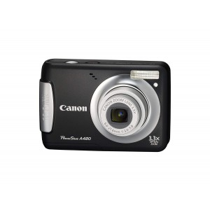 Canon PowerShot A480 10 MP Digital Camera with 3.3x Optical Zoom