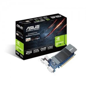 Asus GeForce GT 710 2GB GDDR5 HDMI VGA DVI Graphic Card GT710-SL-2GD5-BRK