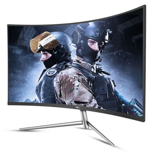 "AOC C32V1Q 32"" LED LCD Curved Gaming Monitor FHD 1920x1080 VA 16:9HDMI DP VGA"