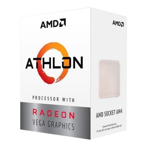 AMD Athlon 200GE 2 Core 3.2Ghz 5MB AM4 35W CPU Processor Radeon Vega Graphics YD200GC6FBBOX