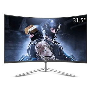 "AOC CQ32V1 31"" 32"" LED LCD Curved Gaming Monitor QHD 2560x1440 VA 16:9 HDMI VGA"