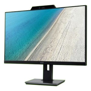 Acer B277U 27in IPS-LED HDMI DisplayPort  mini DP 16:9 2560x1440 75Hz  Speakers Height Adjustable Webcam Monitor