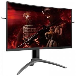 """AOC AGON AG323QCXE 31.5"""" 144Hz QHD 1ms FreeSync2 HDR VA Curved Gaming Monitor"""