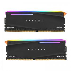 Antec Katana RGB 16GB (2x8GB) DDR4 3200MHz C16 16-18-18-38, PC4-25600, 1.35V Desktop Gaming Memory